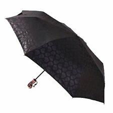 ColorDrip- Automatic Skull Umbrella- Auto OpenClose- 55Mph Windproof- Compact A