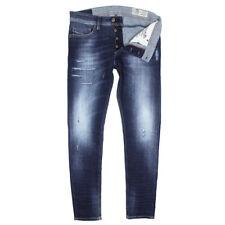 Diesel TEPPHAR 084GF Zanahoria Jeans Ajustados envejecido-W30 L32-RRP £ 165
