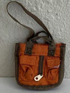 Bratz Girlz Girl Doll Size Orange & Green Bag Purse Backpack Accessory