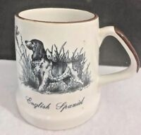 Collectible Vintage English Spaniel Pheasant Bird Coffee Mug Tankard