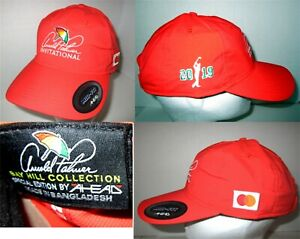 Arnold Palmer Invitational Special Edition Bay Hill Hat 2019 Mid Fit Orange