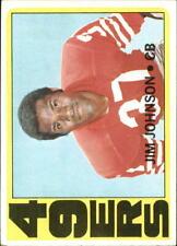 1972 Topps Football Card #332 Jim Johnson - NM