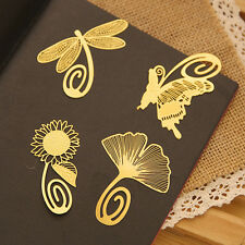 Hot Metal Classical Bookmarks Memo Index Paper Clip Sticker Notepad Stationery
