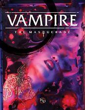Vampire the Masquerade RPG 5th Edition - Core Rulebook - New - includes PDF