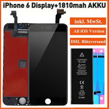 LCD Für iPhone 6 Display Retina Bildschirm Glas Scheibe TouchScreen+1810mAh AKKU