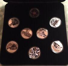 8 X .6oz SILVER Medals Churches of Western ARMENIA Armenian Genocide symbol coin