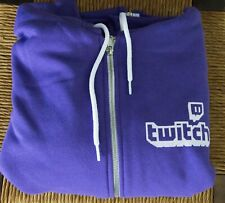 Size XL Twitch Hoodie Color Purple