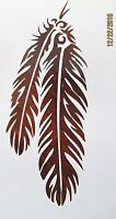 Feather Stencil Reusable 10 mil Mylar Stencil