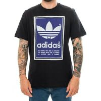 T-SHIRT UOMO ADIDAS FILLED LABEL ED6936  MAN TRIBES  APPAREL Nero