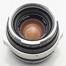 Carl Zeiss Planar 50mm 50 mm 1:2 2 - Zeiss Ikon Contarex Bullseye Objektiv