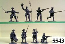 French Military Personnel Toy Soldiers