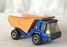 Vintage Matchbox Lesney 1975 Superfast No. 23 Atlas Tipper Dump Truck Made in UK