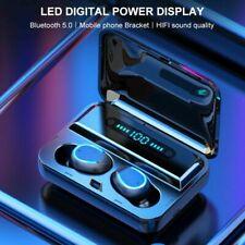 Wireless Bluetooth 5.0 Earbuds Earphones Waterproof Deep Bass in-Ear Headphones