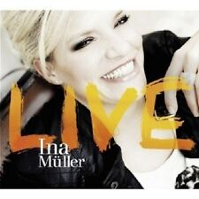 INA MÜLLER - LIVE  2 CD LIVE/BEST OF/DEUTSCH POP  NEU