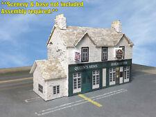 Z Scale Building - British Pub & Inn (Cover Stock PRE-CUT Paper Kit)