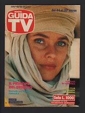 GUIDA TV MONDADORI 12/1991 CAROL ALT IL PRINCIPE DEL DESERTO FILM PROGRAMMI RAI