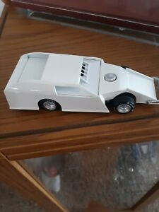 2020 Pull Back DIRT MODIFIED Imca BLANK White 1/32 DIECAST DIRT RACE CAR NON ADC