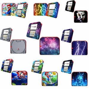 9 styles --- Vinyl Decal Skin Sticker Cover for Nintendo 2DS Console