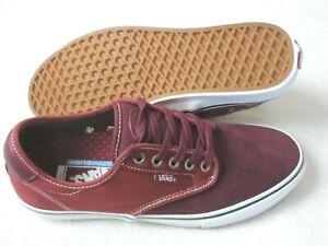 Vans Men's Chima Ferguson Pro Port Royale Rosewood Red Skate shoes Size 11.5 NWT