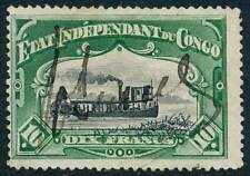 1898 Belgian Congo Stamp, #30, perforated 14, used