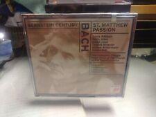 LEONARD BERNSTEIN - St Matthew Passion - 2 CD - **BRAND NEW/STILL SEALED** 1999