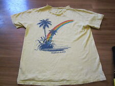 80s vintage surf and skate tee shirt large MARSHALL ISLANDS...RARE 80S LARGE
