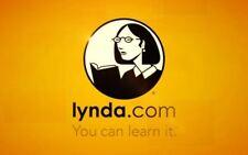 50%OFF--> LYNDA:com Premium Konto Unbegrenzter Zugang + Garantie + Persönlich