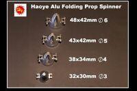 Haoye  Alu Folding Propeller Spinner 43 x 38 mm. Shaft 5 mm  £11.99