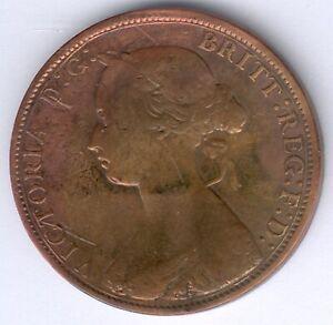 Großbritannien Viktoria (1837-1901) 1/2 Penny 1862 KM#748.2, s/ss