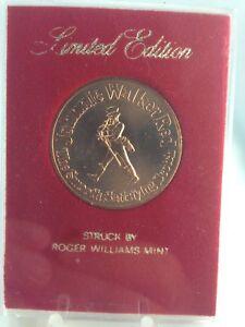 Limited Edition Johnnie Walker 1973 Kansas City Chiefs Schedule Coin