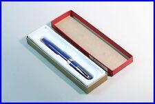 Elegante penna a sfera SHEAFFER/Blu U. ORO/BALLPOINT PEN in Box/Usa Made
