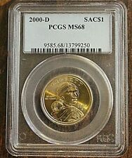 2000 D PCGS MS68 Sacagawea Dollar Coin -First Year of Issue