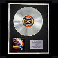E.L.O. ELECTRIC LIGHT OUT OF THE BLUE  CD PLATINUM DISC VINYL LP FREE POST UK