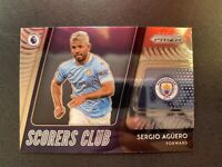 2020-21 Panini Prizm Premier League Scorers Club Sergio Aguero #7 epl Manchester