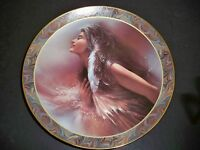 "COLLECTOR PLATE BRADFORD EXCHANGE NATIVE BEAUTY ""THE PROMISE"""