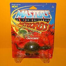 VINTAGE 1985 MATTEL MOTU HE-MAN MASTERS OF THE UNIVERSE METEORBS CROCOBITE MOC