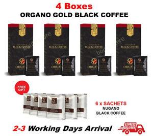 4 Box ORGANO GOLD Black Coffee Gourmet Ganoderma Exp08/2022【EXPRESS SHIPPING】