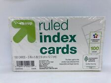 Up Amp Up 5 Color Ruled Index Cards 3 X 5 100 Cards