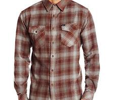 MATIX Scheme Flannel Shirt (L) Oxblood