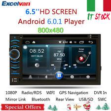 "2Din 6.2"" HD DVD Autoradio Android GPS Navigatore Bluetooth Stereo WIFI USB FM"
