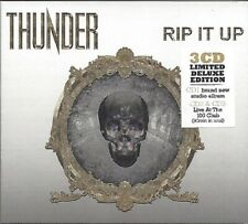 THUNDER / RIP IT UP - LIMITED DELUXE EDITION * NEW DIGIPACK 3CD'S 2017 * NEU *