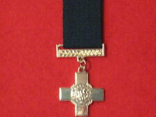 Miniature George Cross Medal GC with ribbon
