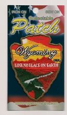 State of Wyoming Souvenir Travel Patch