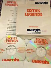 RADIO SHOW:8/21/92 SIXTIES LEGENDS: STEVIE WONDER;13 INTERVIEWS & 20 HITS,90 MIN