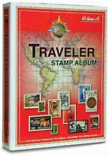 Harris World Stamp Album Traveler Worldwide 3 Ring Binder Intermediate No pages