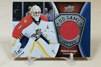 Roberto Luongo UD Game Jersey 2016-17 Upper Deck #GJ-RL Florida Panthers