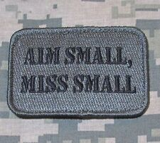 AIM SMALL MISS SMALL USA ARMY MORALE ACU DARK VELCRO® BRAND FASTENER PATCH