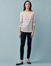 New Crew Clothing Womens Long Sleeve Interest Breton in Multicoloured