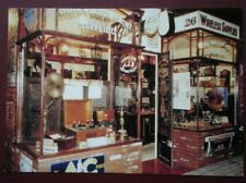 POSTCARD NORTHUMBERLAND BEAMISH - THE RADIO & MOTORCYCLE SHOP