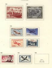 France  all  Mint  airmail stamps